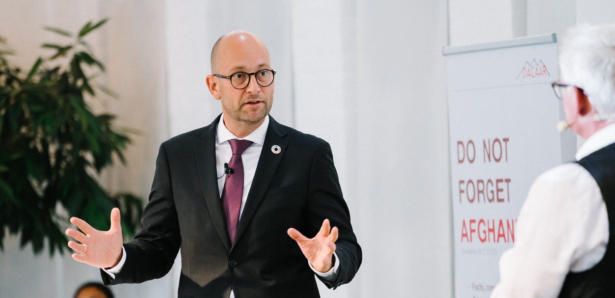 Udviklingsminister Rasmus Prehn (S) vil ikke glemme Afghanistan