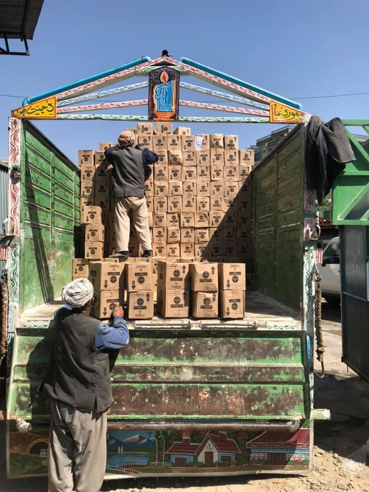 DACAAR leverer yderligere 130.000 ud af 1,5 mio. stykker sæbe