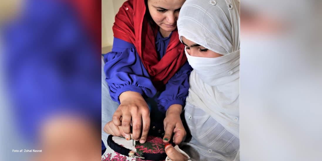 'Jeg lærer noget': Novo Nordisk Fonden støtter kvindelige entreprenører i Afghanistan med 750.000 kr.