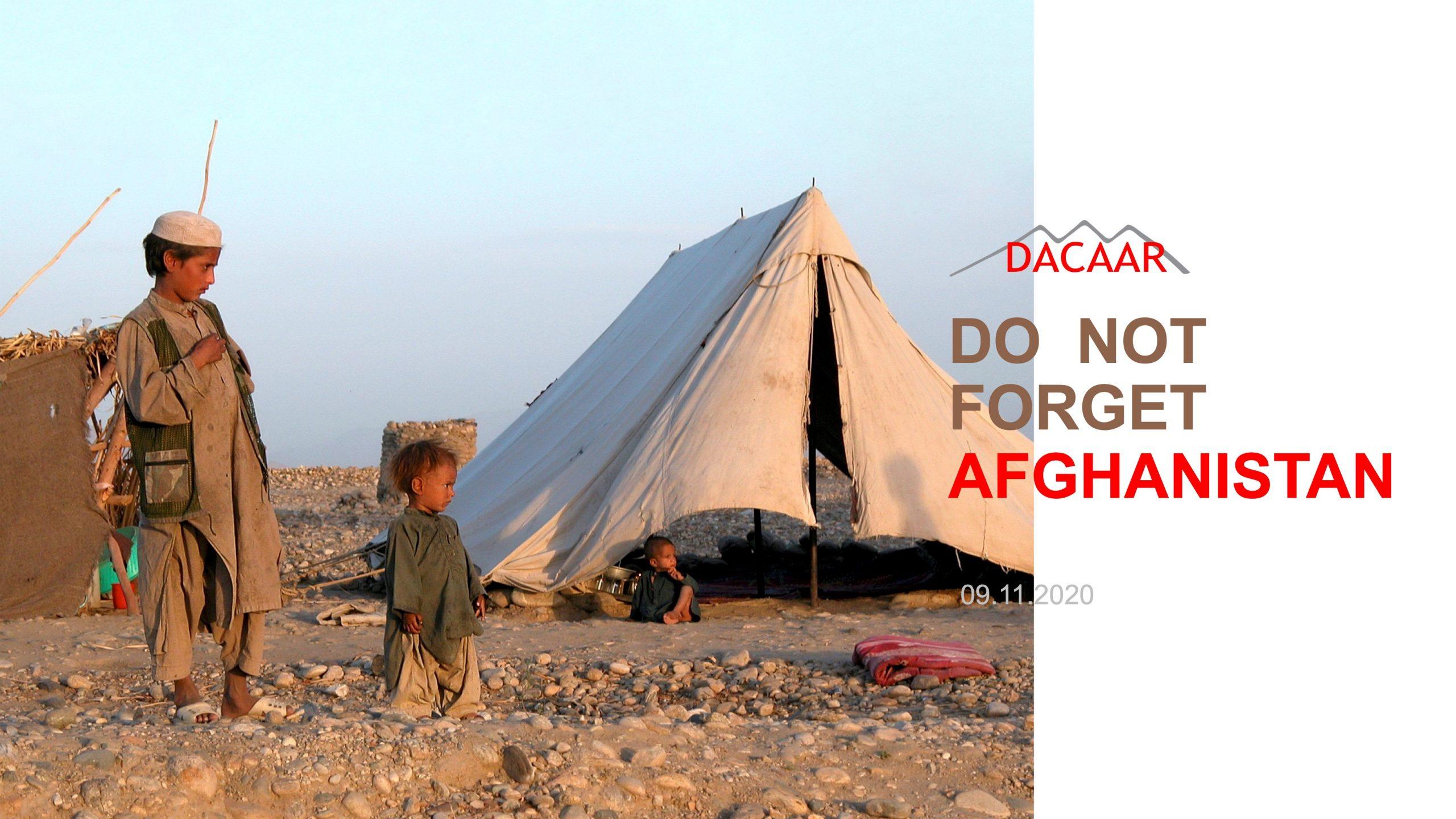 Få gratis billet til DCAAR's Afghanistan-konference 11. September kl. 10-15.30