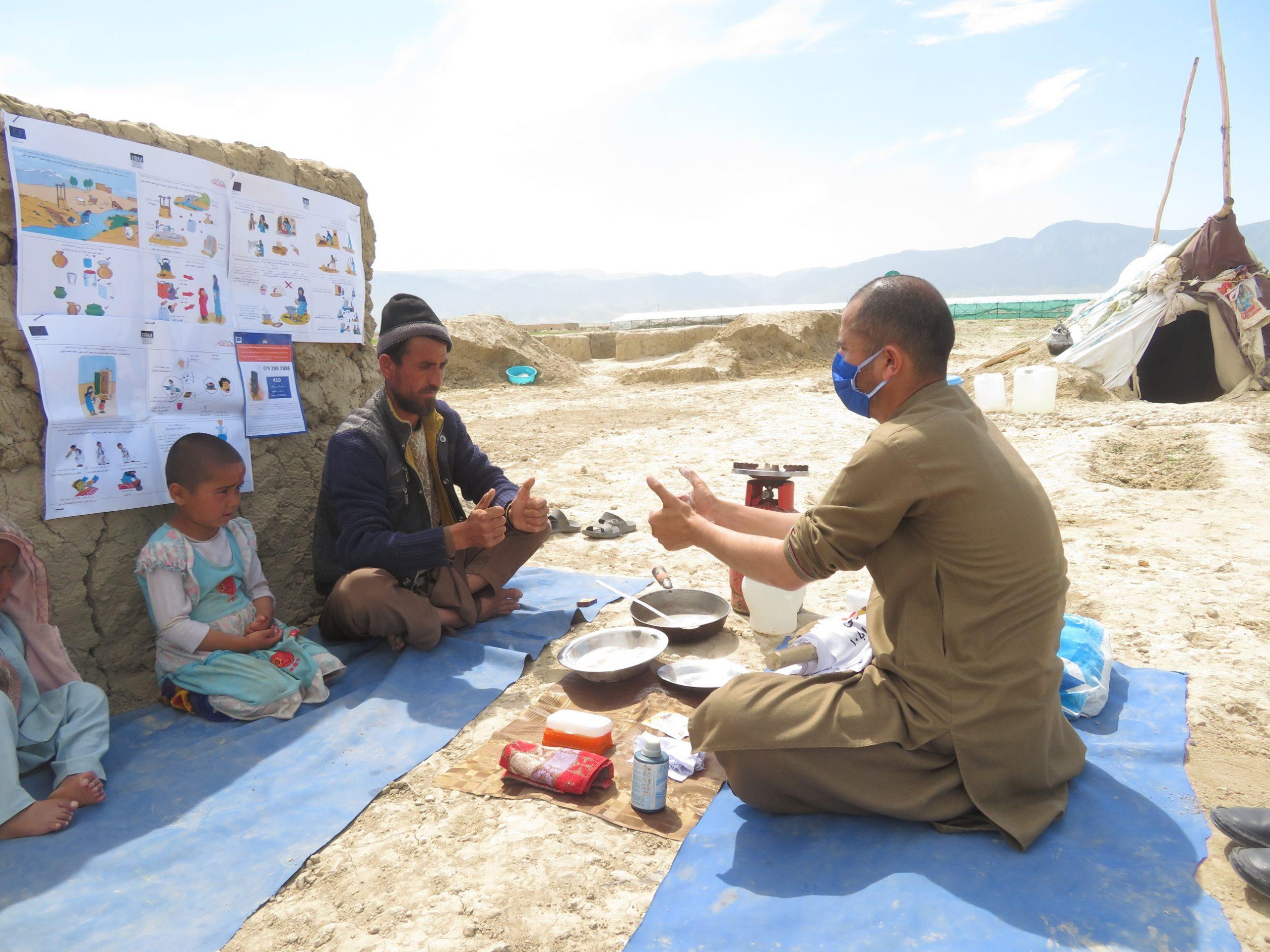 Hør DACAAR i DR P1-Orientering: Brug for akut corona-hjælp til Afghanistan